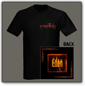 T-Shirt black - EDEN